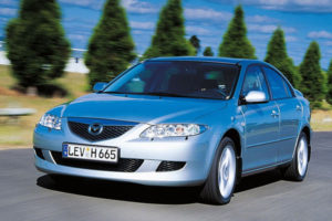 Mazda 6 I (седан), 2002 - 2007